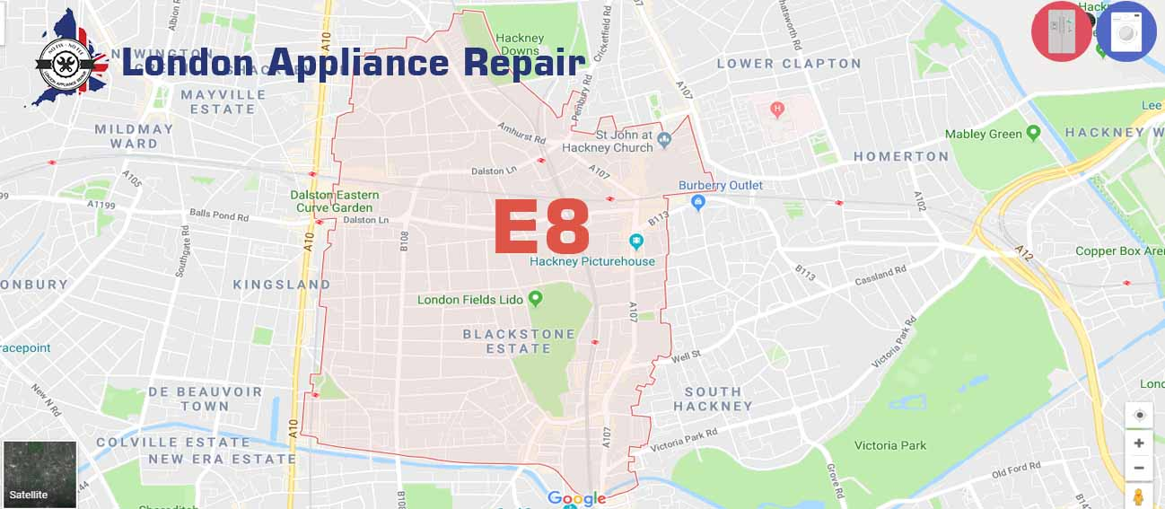 London Appliance repair in E8