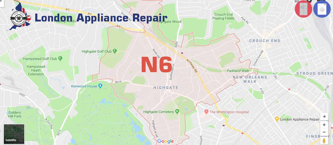 London Appliance repair in N6