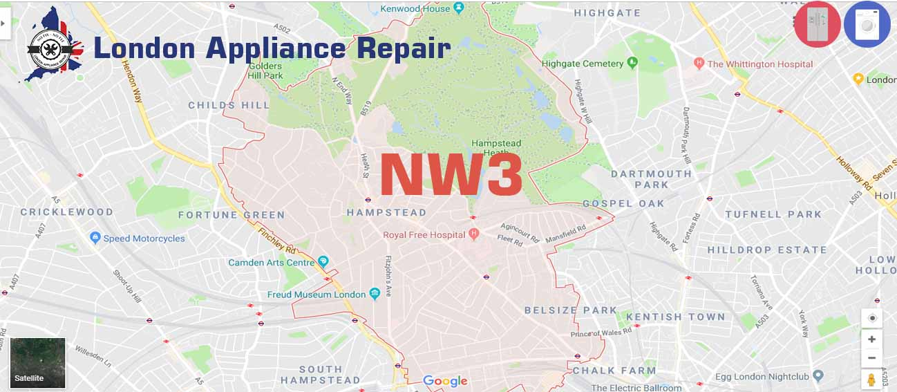 London Appliance repair in NW3